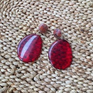 Accessories - Red earring